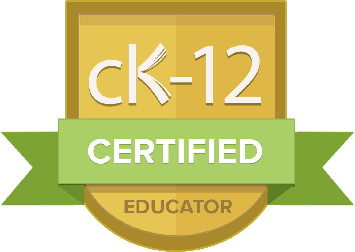 Ck 12 Certified 2017 Ck 12 Foundation